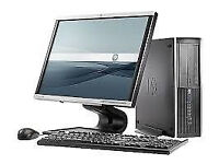 """PROFESSIONALLY REFURBISHED HP 6000 PC 3GB RAM 500GB HDD DUAL CORE 19"""" MONITOR KEYBOARD MOUSE & MORE"""