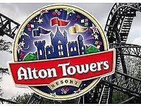 Alton towers ticket X 4, 05/10 Friday