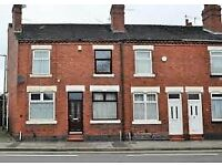 **LET BY** HARTSHILL ROAD - CLOSE TO STOKE TOWN CENTRE - NO DEPOSIT