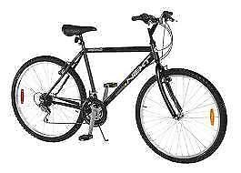 "26 inch mountain bike Hybrid Mix RALEIGH Elkhorn  5'9"" 6'3"" tall 21 speed Mountain bike Frame size 19 inch"