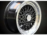 "BBS RS style brand new Alloy wheels 16"" inch x 9j 5x100 VW Volkswagen bora corrado VR6 alloys wheel"