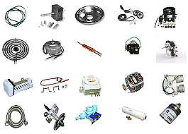 WE SELL HOME APPLIANCE PARTS OF ALL MAKES