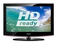 SAMSUNG HD-READY TV WITH FREE WALL BRACKET