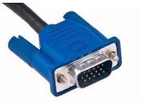 VGA monitor lead