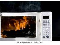 Free collection of broken/old/unwanted microwave ovens