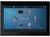 As new, T3 Touchscreen 7 inch in wall Control4 (6available)