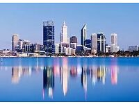 1 way flight to Perth from Manchester 8th December 2018