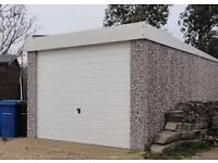double or three quarter Wanted concrete sectional garage