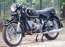 Looking for older airhead  BMW motorcycle with papers.