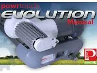 Powrtouch Evolution manual twin axle caravan motor mover