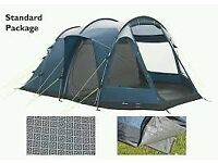 OUTWELL NEVADA 4 PERSON TENT with EXTENSION, FOOTPRINT & CARPET