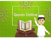 Online Quran English speaking female tutor £3 per hour .
