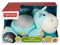 Fisher-Price Cuddle Projection Soother - Hippo - Pre-owned with original box