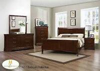 eh Mazin Cherry Bedroom Suite