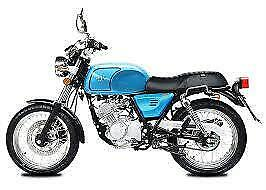 AJS Tempest 125cc motorcycle motorbike classic cafe racer commuter cadwell