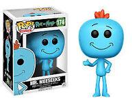 NEW IN BOX - Rick and Morty Mr Meseeks Pop Vinyl Figure