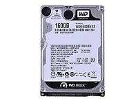 Laptop Hard Drives - Western Digital Black - 500 GB and 160 GB