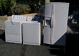 Old unwanted appliance free pick up