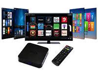 mxq android tv box original not skybox trade price £30 quick sale