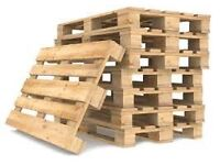Pallets big and euro pallets