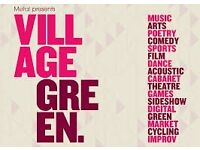 Bar Staff wanted for Village Green Festival (Southend-on- Sea) on Saturday 8th July