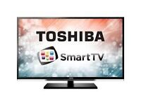 """42""""Toshiba smart TV £160, the price is negotiable,need quick sale."""