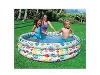 Intex inflatable pool of the Realistic Starfish Pool line