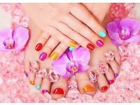 Gel Manicures, Pedicures and Beauty Treatments