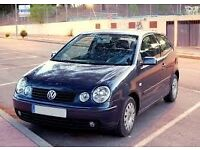 VW Polo 1.2 Manual, Blue, Great runner 52 plate, 3 door, Petrol, first to see will buy!