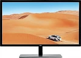 AOC Q3279VWF 31.5-Inch HDMI DVI Monitor - Black