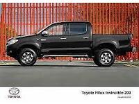 New Toyota Hilux Double Cab Invincible - £279.00 + VAT