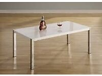 AVAILABLE NOW New High gloss white Coffee table £69