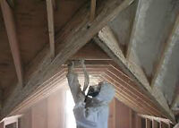 POLYURETHANE SPRAY FOAM INSULATION .306-867-4370 ANYTIME
