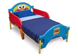 Elmo toddler bed with mattress