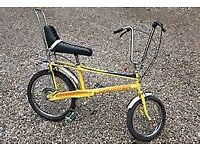 WANTED OLD 60'S 70'S 80'S RALEIGH CHOPPERS OR GRIFTERS FOR RESTORATION.