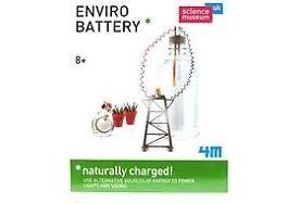 Science Museum Enviro Battery Kit: Brand New