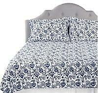 Guillaume Home 3pc Floral Print Coverlet Set Queen