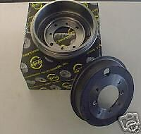 PEUGEOT 306 ZX  XSARA 93>  REAR BRAKE DRUMS X 2 NON ABS