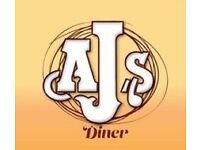 AJ's Diner- Junior chef and kitchen porter required