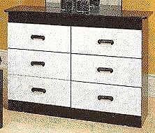 NEW!!! Kids Dresser in a White and Shawdow Oak Finish Regular $329 Now $179