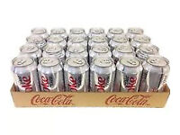 Urgent: 2 x 24 cans of Coke and Diet coke