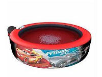 Disney Pixar Cars 3 Bubble Tub Bubbly Paddling Pool - Includes Pump -from smoke free home