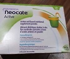 Neocate Active 945g unflavoured fully sealed expiry late 2018