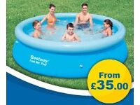10ft inflatable pool for sale - Brand new with box