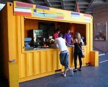 FOOD TRUCK CONTAINER RESTAURANT CAFE BURGERS FAST FOOD Lidcombe Auburn Area Preview