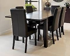 Solid timber dining table only