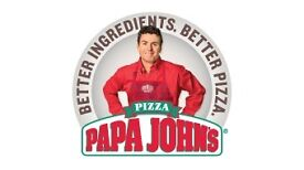 Papa Johns Pizza Delivery Driver - Moped Driver/Car Driver Full/Part Time