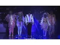 3 Thriller Live Tickets for sale at Lyric Theatre in london