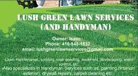 Lush Green Lawn Services – All Lawn Care Needs
