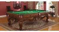 LIQUIDATION DES TABLES DE BILLARD!! POOL TABLE LIQUIDATION!!